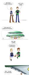 NCIs vs. Aliens by Saisoto