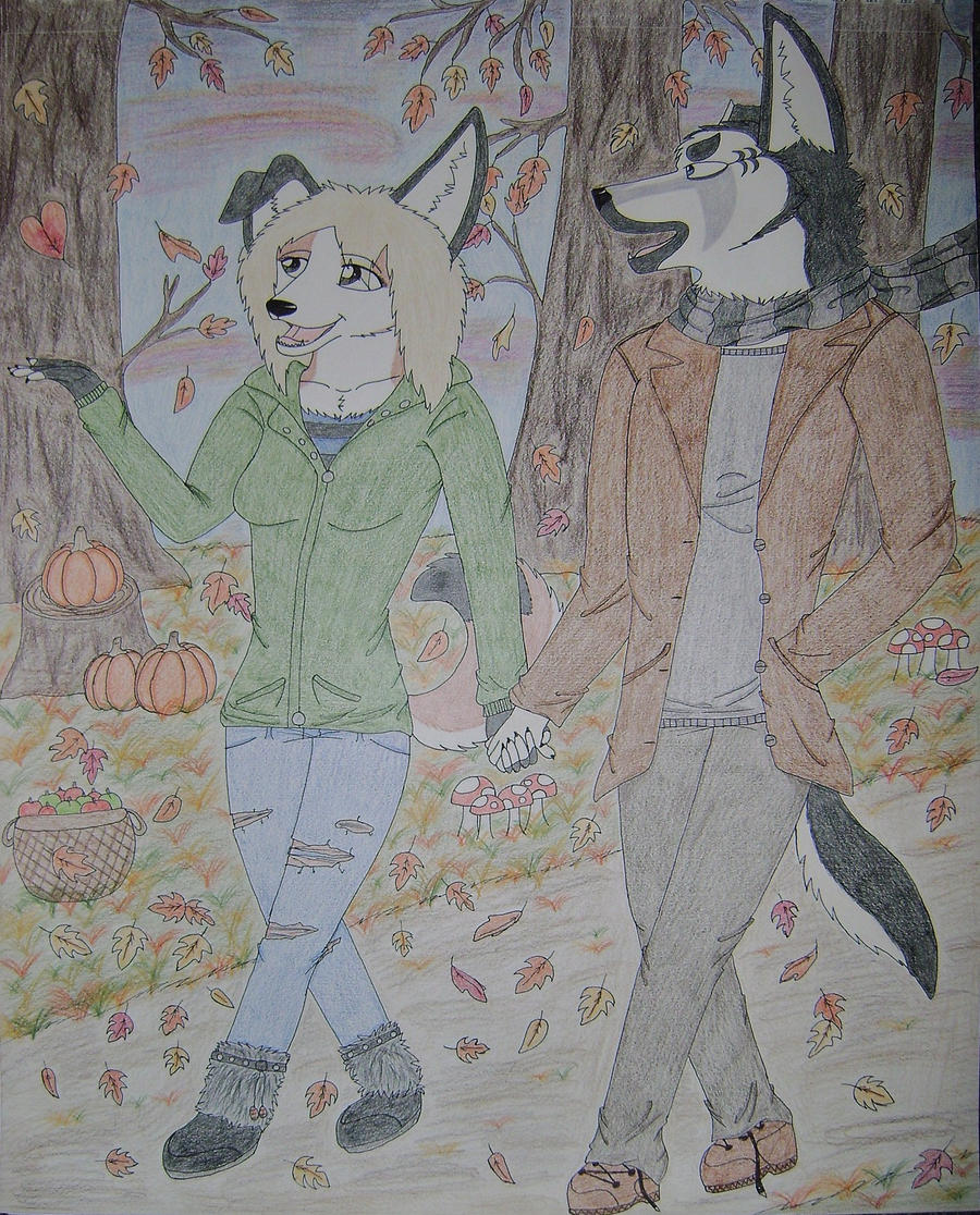 A Walk In The Woods by Huskypawz