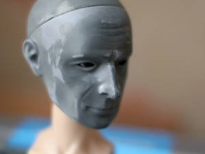 BJD head Mr. Test