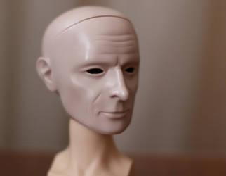 BJD head Mr. Test