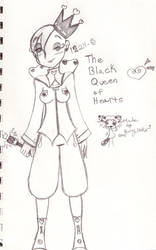 The queen of black hearts