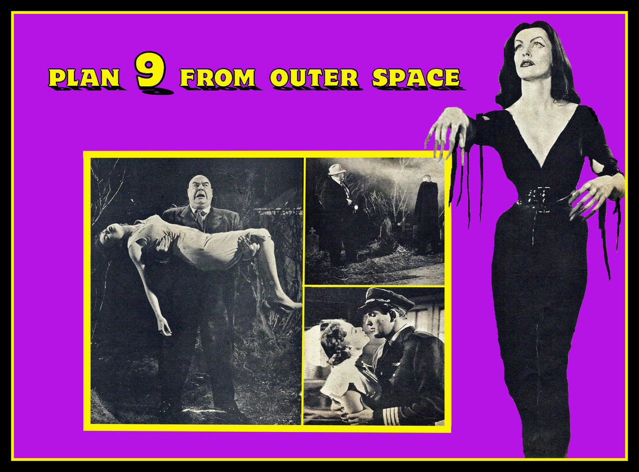 Plan 9 from outer space 1959 legenda grey skies 2010 for Outer space planning and design group