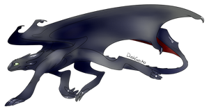 Toothless by DawnGecko