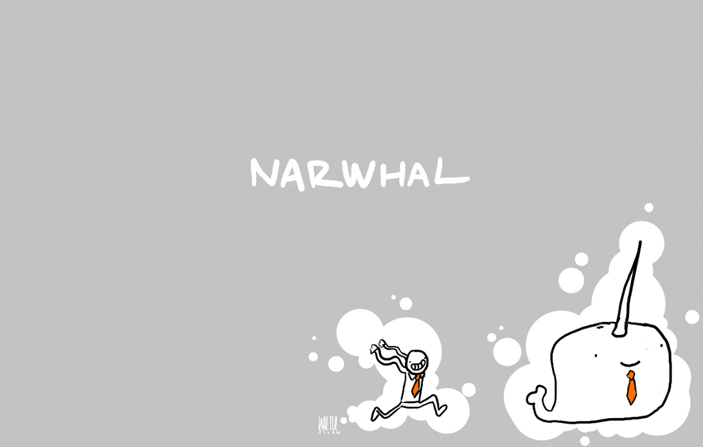 Business Narwhal Wallpaper By Waltard