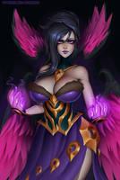 Morgana (LoL) by essentialsquid