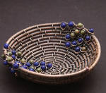 Copper Wire Coiled Bead Bowl