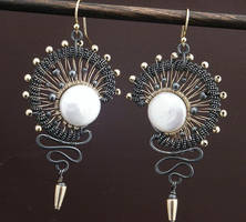 Eclipse Earrings by WiredElements
