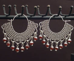 Double Twined Moroccan Earring by WiredElements
