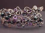Violet Upper Arm Band