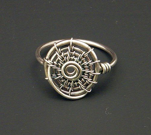 Swirl Ring by WiredElements