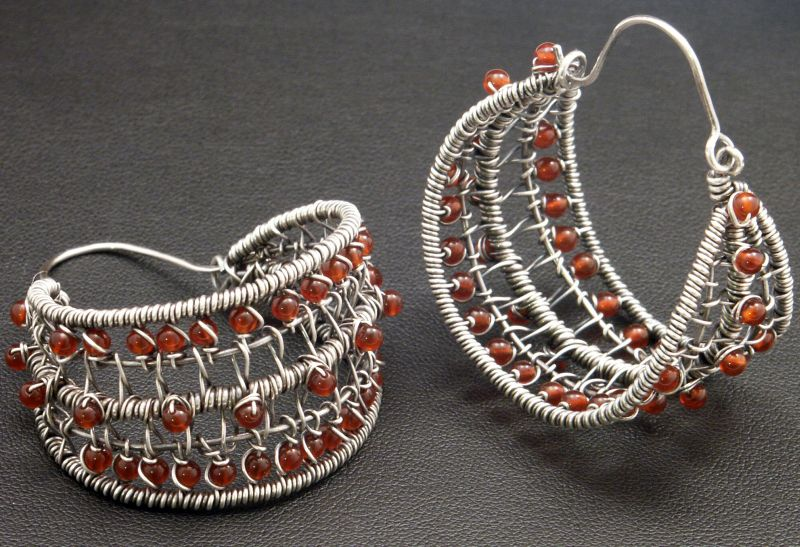 Woven Hoops by WiredElements