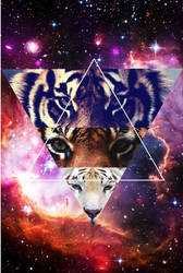 hipster tiger by stalingradSS