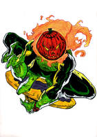 Pumpkin Head by jonian