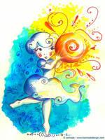 Ne pas lacher le soleil by Ozmoze-Land