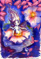 Femme-insecte500 by Ozmoze-Land