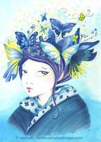 Geisha-butterfly by Ozmoze-Land