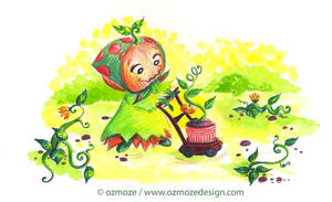 Pumpkin mother by Ozmoze-Land