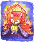 Fox spirit yokai