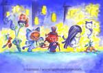 Farandole d'hallowen by Ozmoze-Land