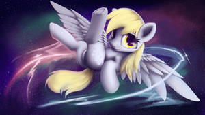 Derpy in space by HitBass