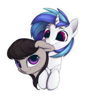 Nom: Vinyl and Octavia by HitBass