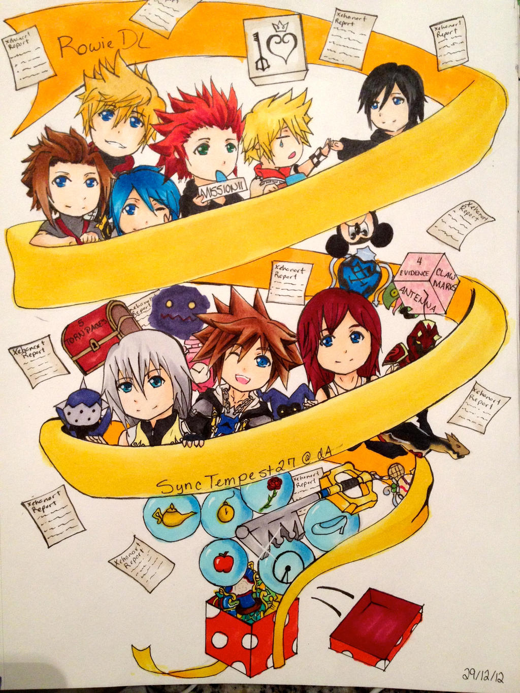 Contest: KH 12 Days of Christmas by SyncTempest27