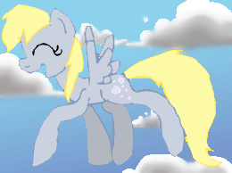 Derpy n clouds by music2myheart