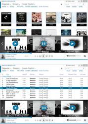 Concept: Metro windows media player by samcaffeine