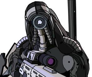 Legion Sketch, Mass Effect 2,3