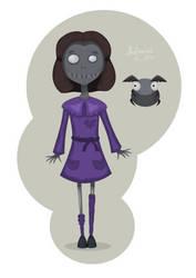 Scary girl by AhNinniah