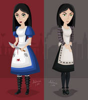 McGee's Alice fan art by AhNinniah