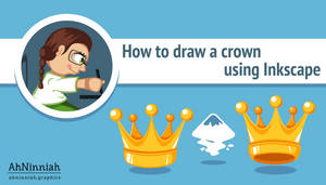 How to draw a crown in Inkscape