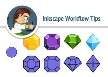 Inkscape | Workflow Tips by AhNinniah