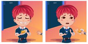 Fan Art SHINee I Want You MV  Onew Comic strip
