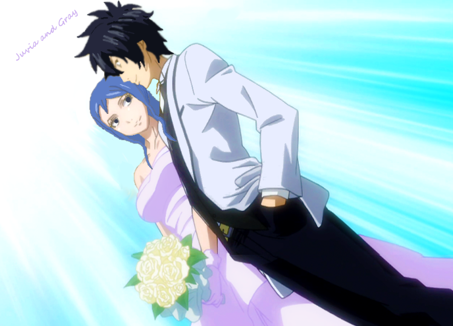 fairy tail wedding by thecheshirecat25 on deviantart