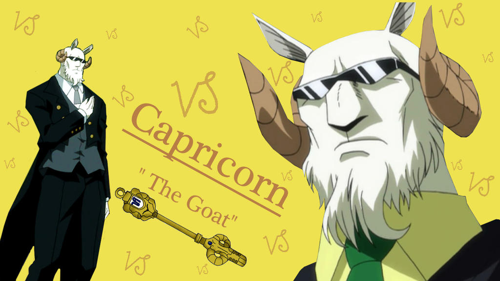 Fairy Tail - Capricorn by TheCheshireCat25 on deviantART