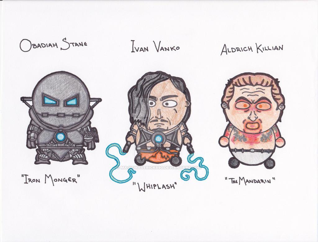 iron man villains by magicmaverick890 on deviantart