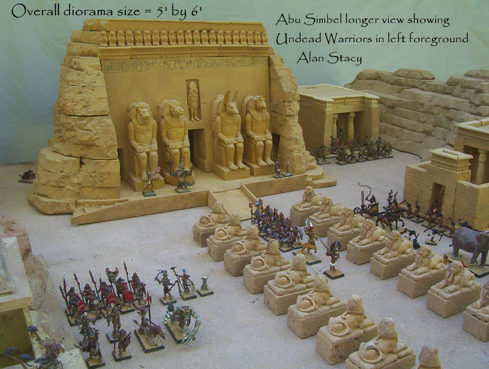Abu Simbel RPG miniature by Beishung