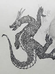 dragon inked
