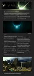 Feature 1: STAR ONE by theluminarium