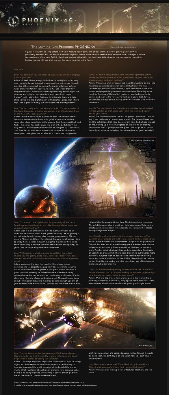 Feature 5: Phoenix-06 by theluminarium