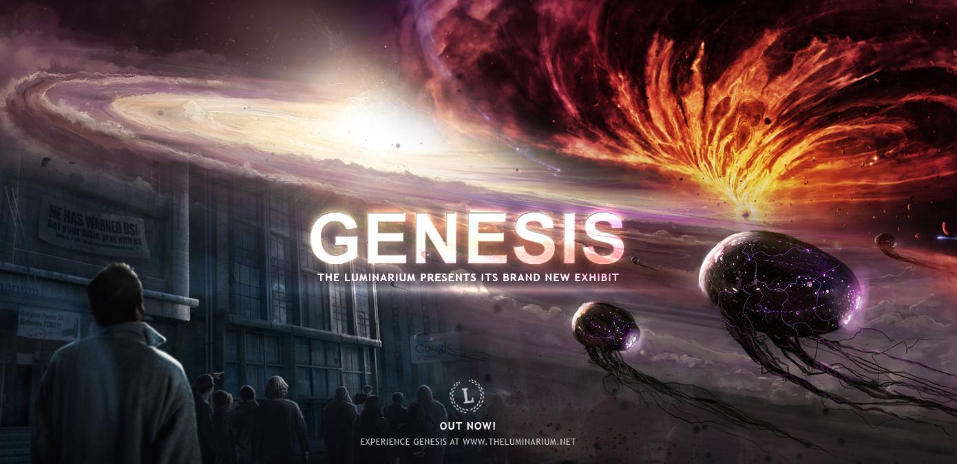 Genesis Release by theluminarium