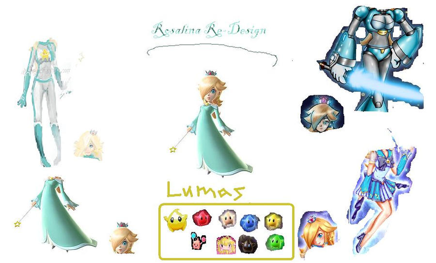 Rosalina Non-Flash Dressup by kittykansworde