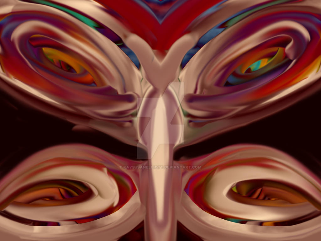 Abstracted Butterfly by Kaysusanelliott