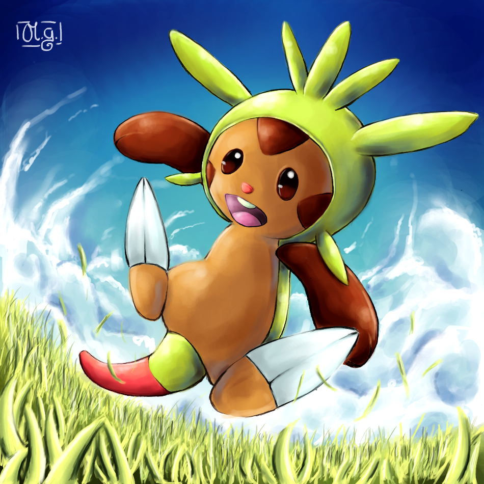 Chespin by Co0kie-Cat