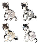 Flatsale Canine adoptables 0/4 (CLOSED)