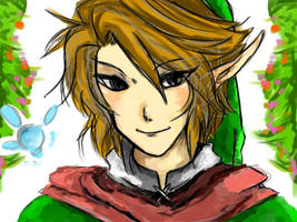 Link portrait by Christy58ying