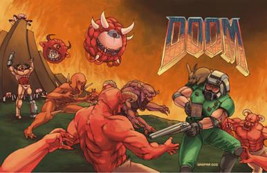 Doom fanzine cover