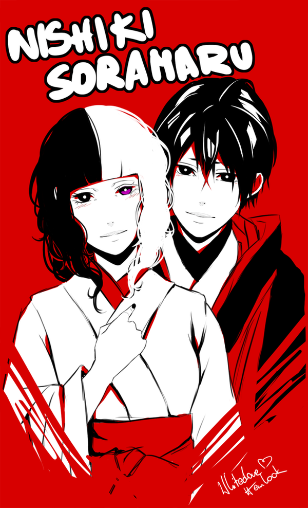 Soramaru x Nishiki by WhitedoveHemlock