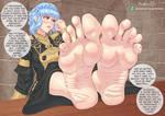 Marianne's Shy Classroom Feet (Fire Emblem)